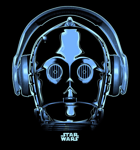 Star Wars T-Shirt Concepts by Alex Fuentes