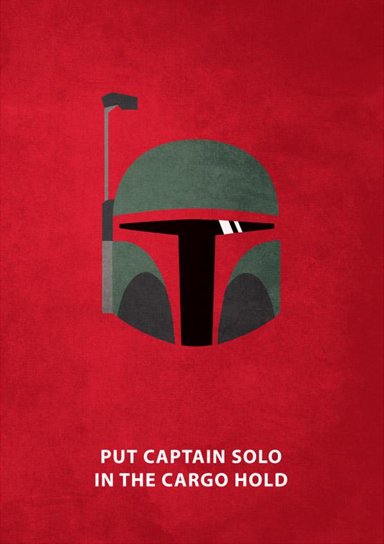Star Wars Minimalism by Keith Bogan