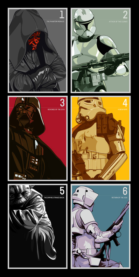 3 vector 30 Awesome Star Wars Creations