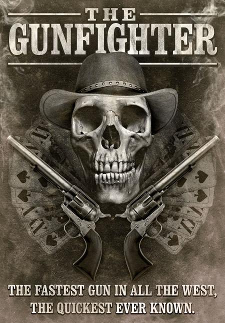 Western Movie Poster Design