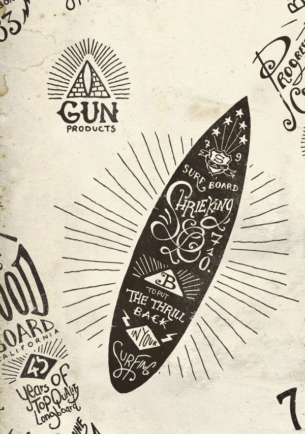 Hand Lettering Boards by BMD Design