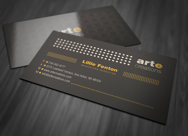 Business Card Design Template For Premium Members - Business card template uk