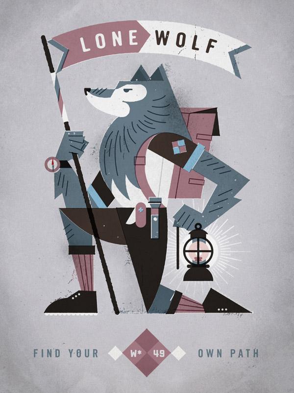 Lone Wolf by Dan Christofferson