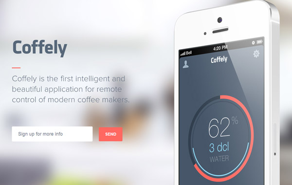 33 Modern iPhone & iPad App Landing Page Websites