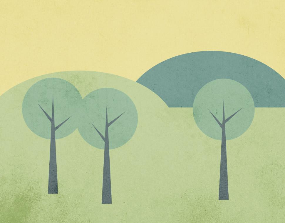 How To Create a Simple Landscape Scene in Illustrator