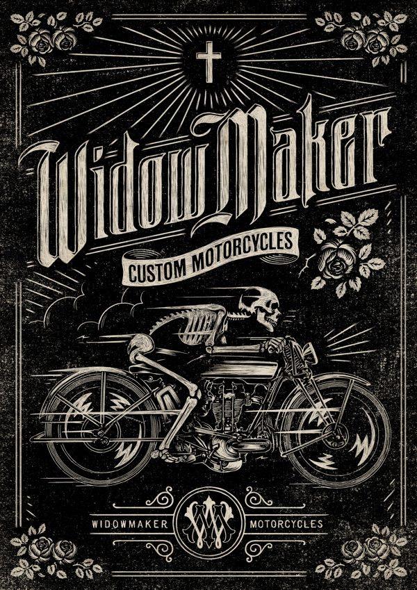 Widow Maker by Aaron von Freter