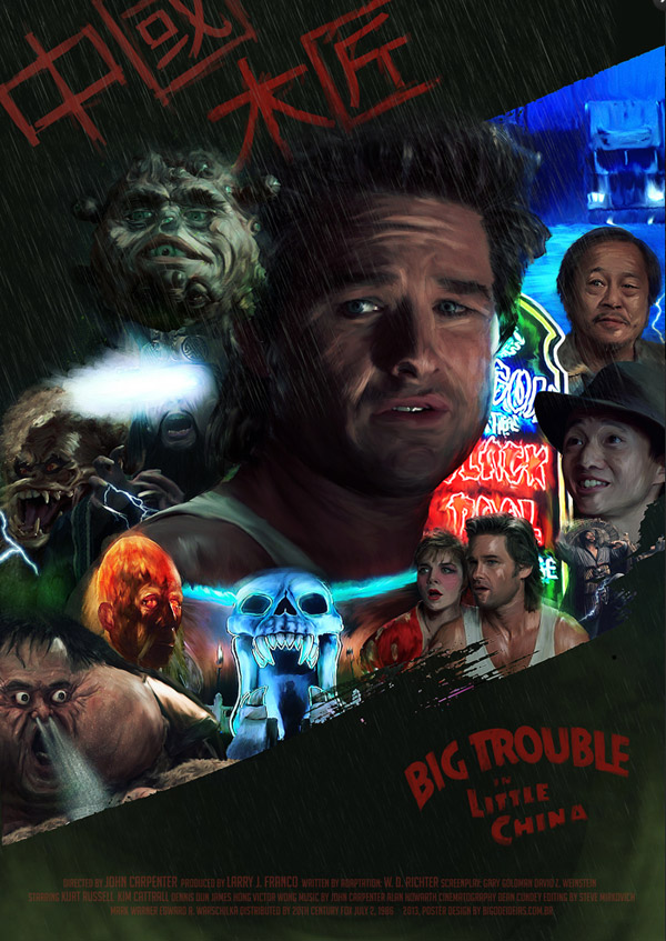 Big Trouble in Little China by Bigode