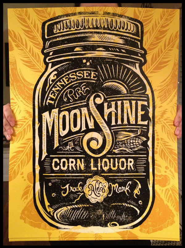 Moonshine Corn Liquor by Derrick Castle