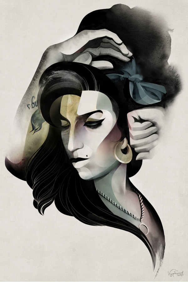 Amy Winehouse by Alexey Kurbatov