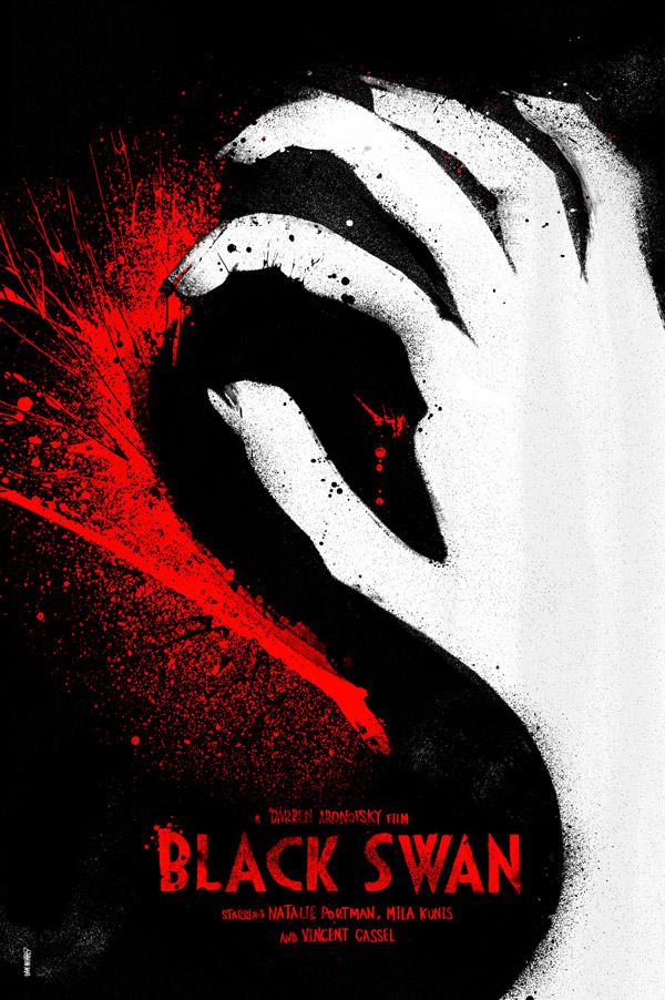 Black Swan Poster by Daniel Norris