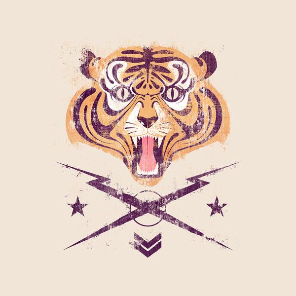Tiger! by Andrés Moncayo