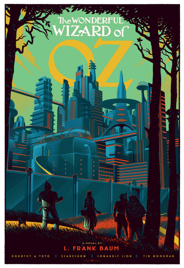Oz Poster by Laurent Durieux