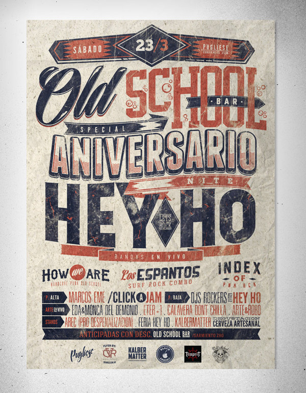 Aniversario Hey Ho by Overloaded Design