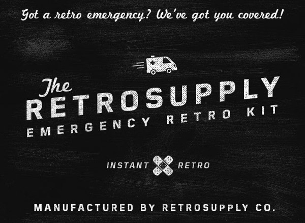 RetroSupply Emergency Starter Kit