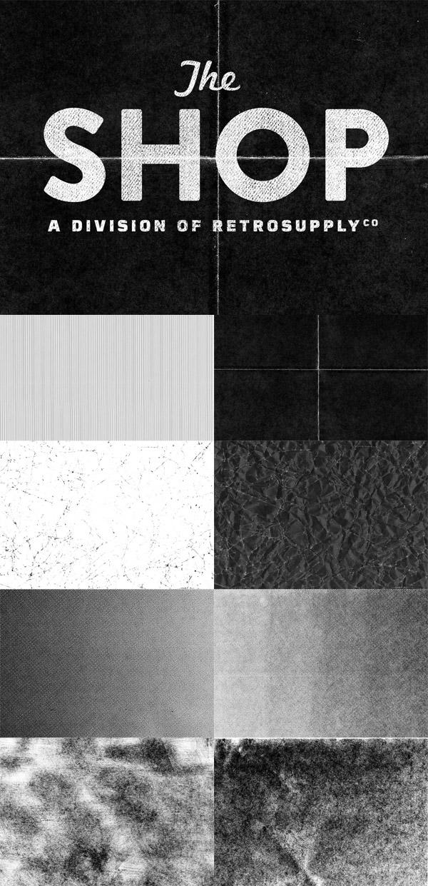 Shop paper textures