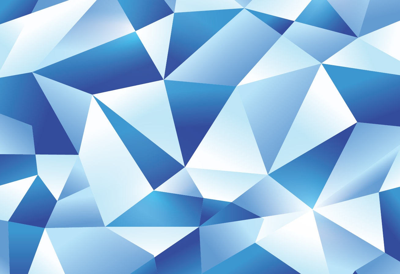 How To Create an Icy Blue Vector Geometric Design