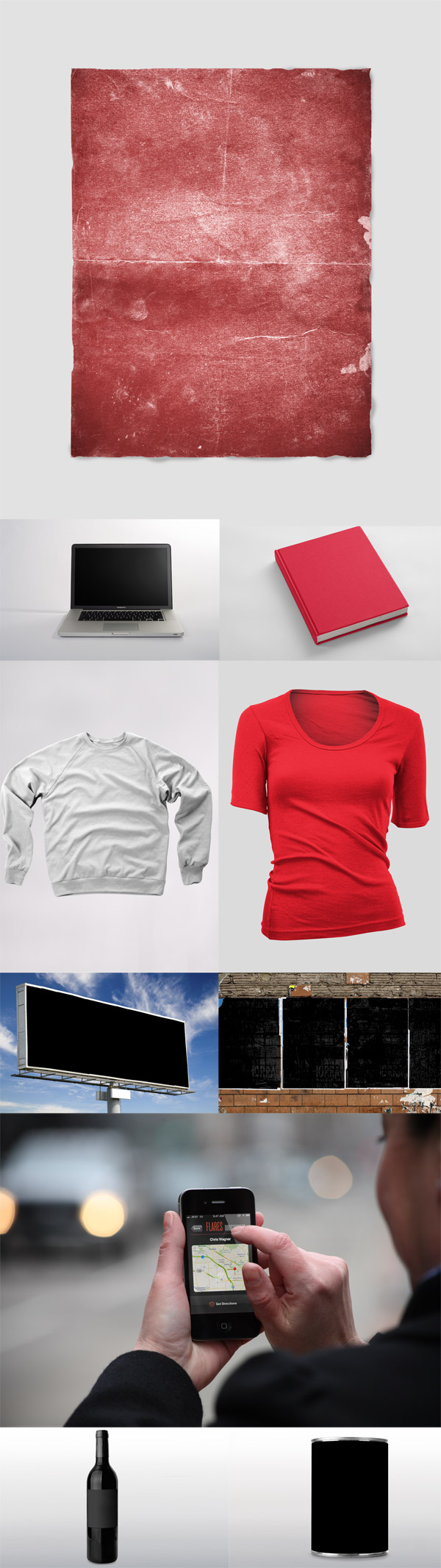 Mockup Everything templates pack
