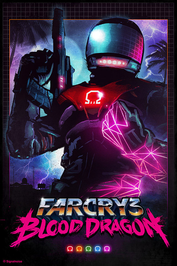 Far Cry 3 Blood Dragon by James White