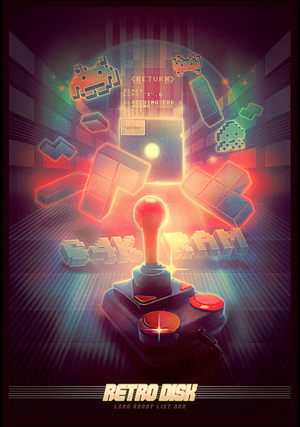 Load Retro Disk by Ralf Krause