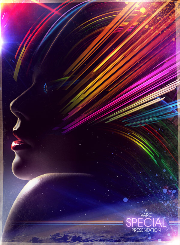 Retro Cosmic by James White