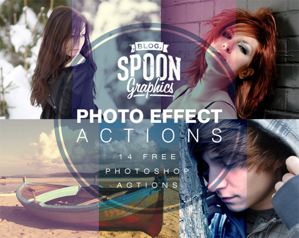 Download the photo effect actions