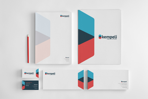 50 inspirational branding & identity design projects, Presentation templates