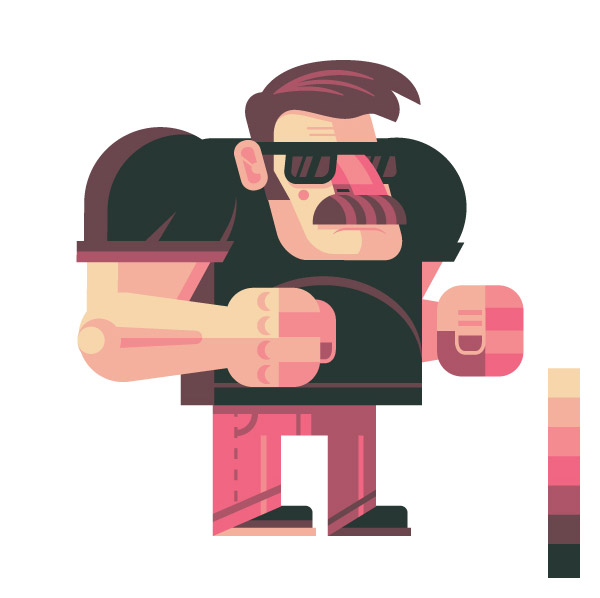 Adobe Illustrator Character Design Tutorial : Of the best character design tutorials for ps ai