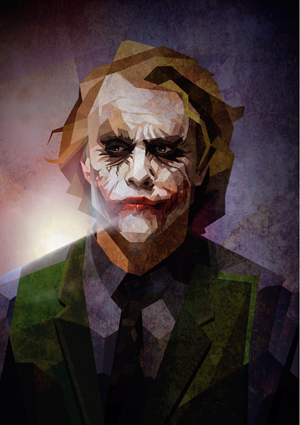 The Joker by Luis Huertas