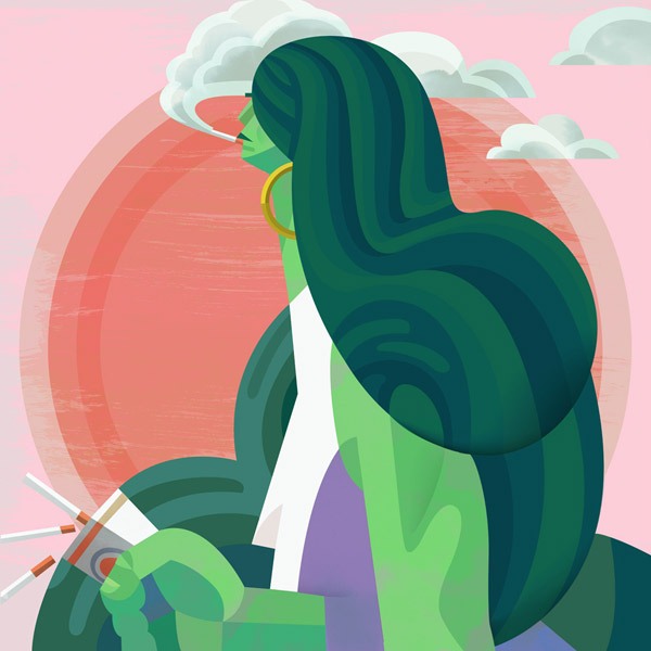 She Hulk by Robert Ball