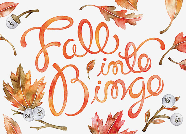 Fall into Bingo by Sasha Prood