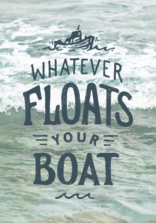 Whatever Floats Your Boat by Joe Horacek