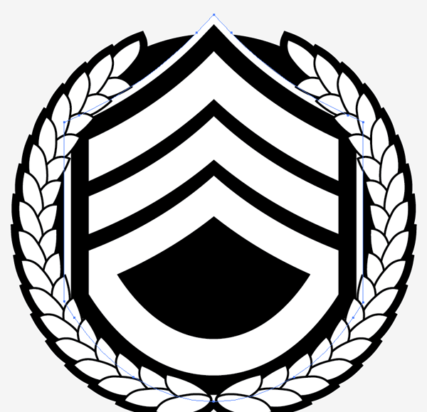how to create a military style emblem logo design