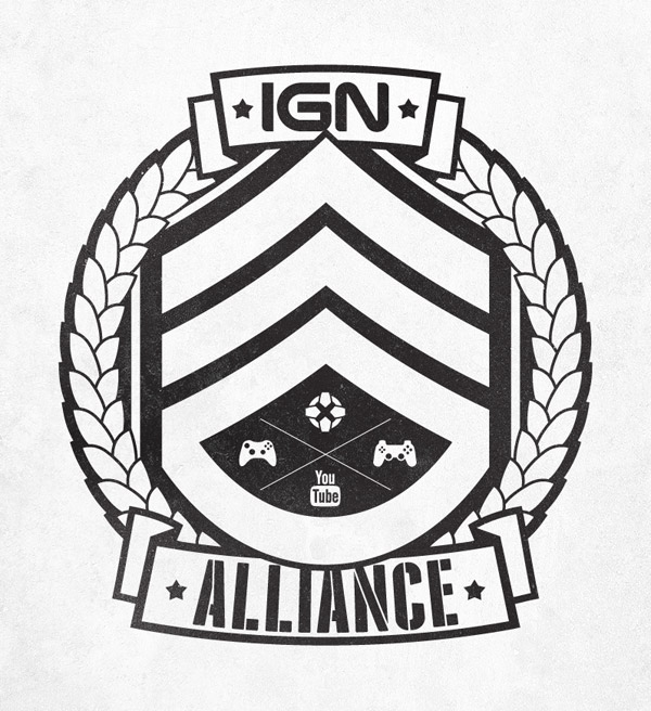 IGN Alliance military style emblem
