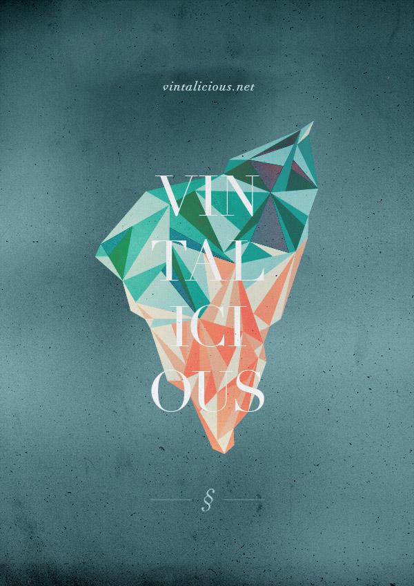 Vintalicious Poster by Andrea Sopranzi