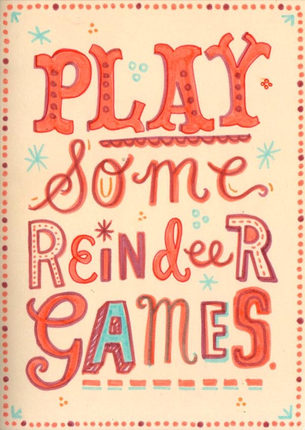 Reindeer Games by Linzie Hunter
