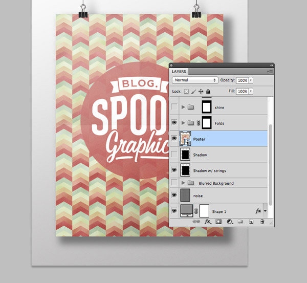 Editing the smart object in a mockup PSD