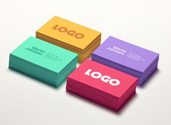 25 free psd templates to mockup your print designs colorful business card mockup colourmoves