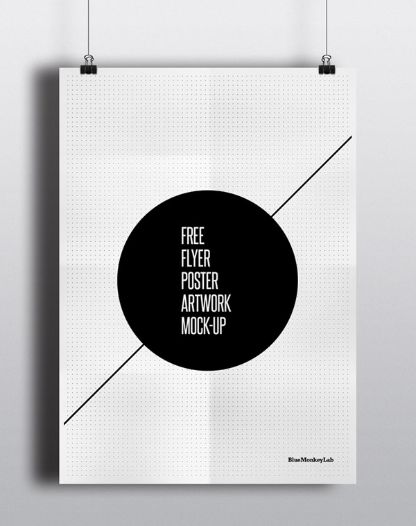 free flyerposter mock up