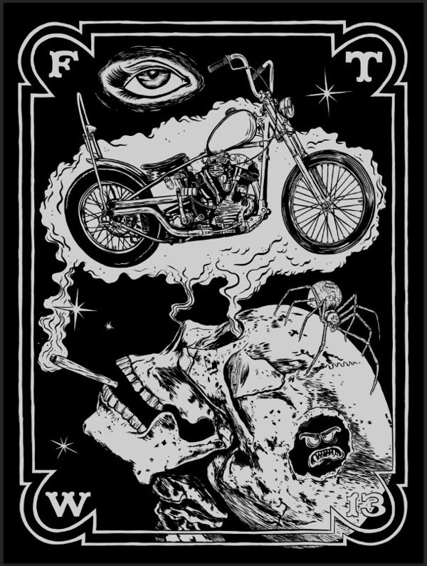 Knucklehead Poster by Phil Guy