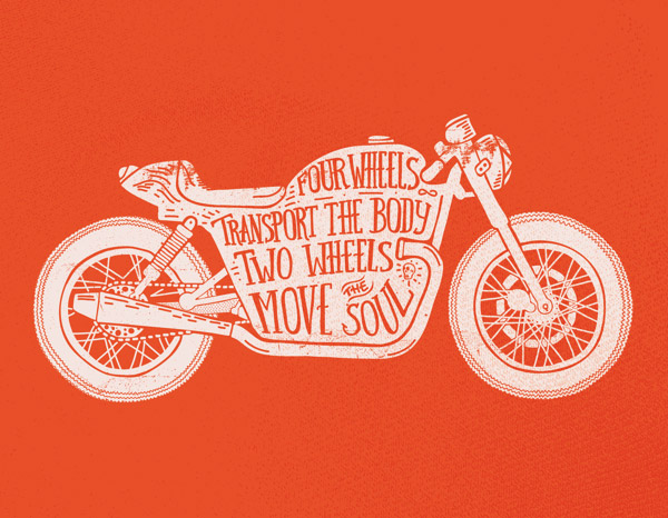 Two Wheels Move the Soul by Daniel Feldt