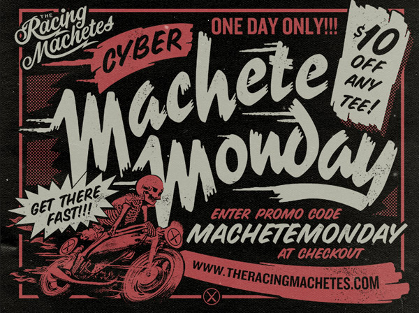 Machete Monday by Brandon Rike