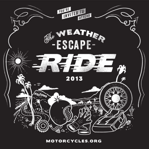 Motorcycle Industry Council Note Card by Hoodzpah