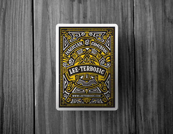 Lee Terbosic Playing Cards by Joel Felix