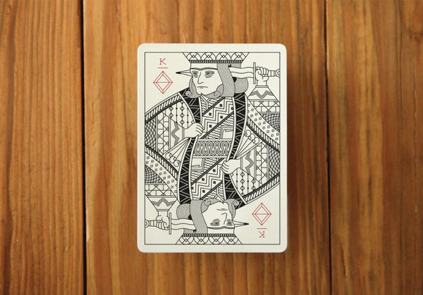 Deck of Playing Cards by Pedale Design