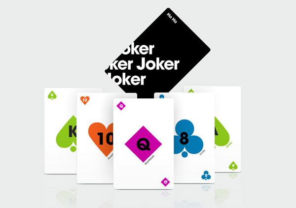 Minimal Playing Cards by Sam Dallyn