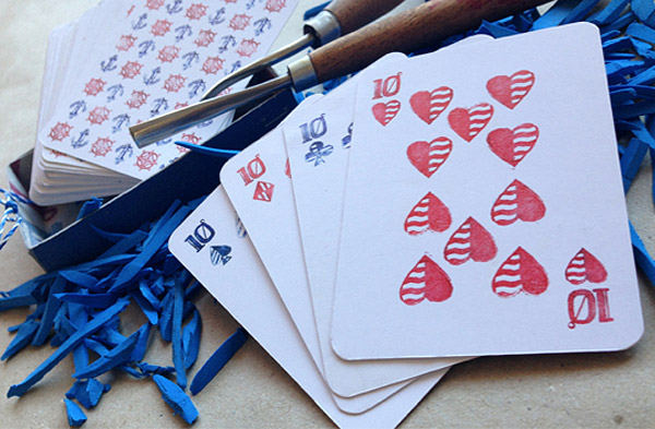 Ahoy Playing Cards by Lisa Nemetz
