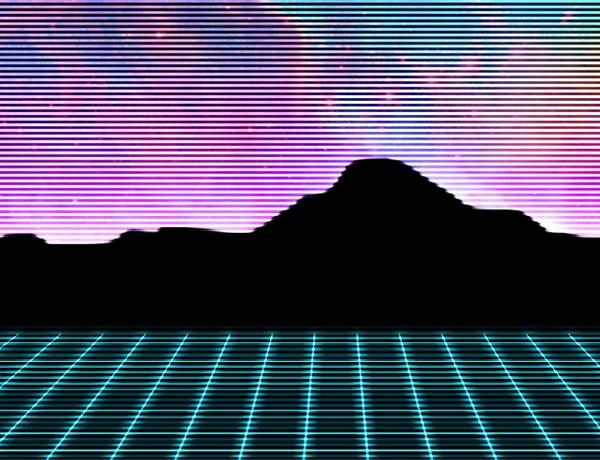 80s Design how to create 80s style retro futuristic neon artwork