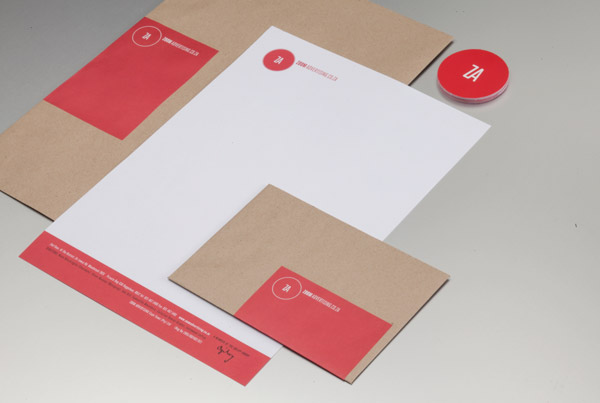 Zoom Advertising Corporate Identity by Ben Johnston