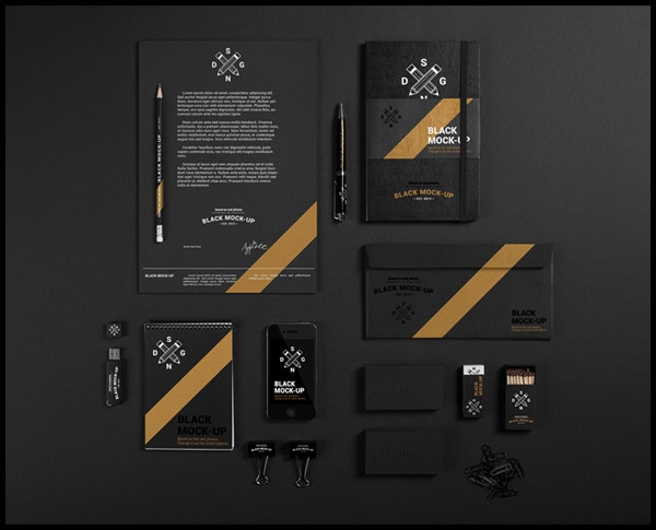 Black Mock-up by Synthetique