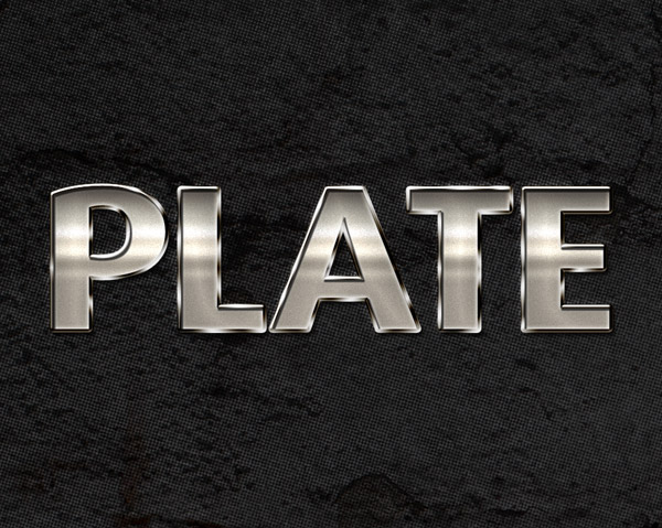 Free photoshop styles to create stunning text effects photoshop shiny metal style by photoshoplayerstyle ccuart Gallery